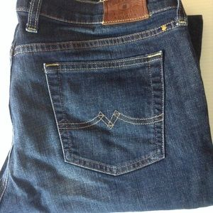 16 W33 LUCKY BRAND Sweet n Low Dark Bootcut Jeans